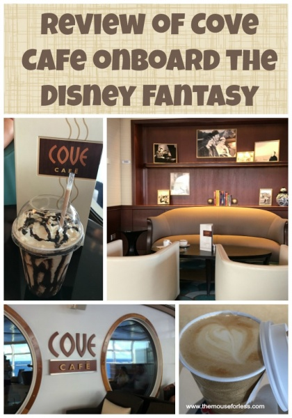 Cove Cafe Review on the Disney Fantasy