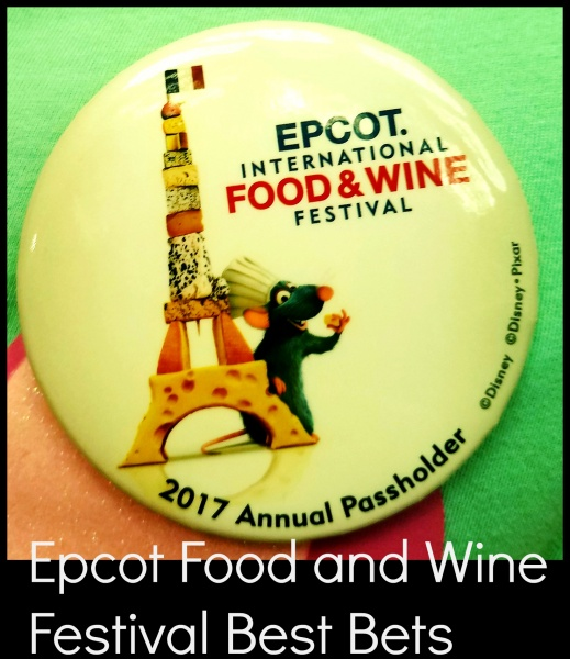 Epcot Food and Wine Festival Button