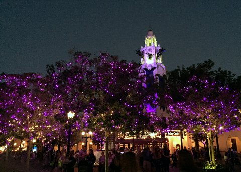 Disney California Adventure Gets Spooky At Night For Halloween