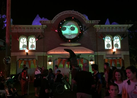 California Adventure gets spooky at night