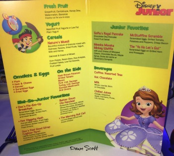 Disney Junior Breakfast