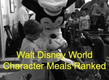 Walt Disney World Character Meals Ranked
