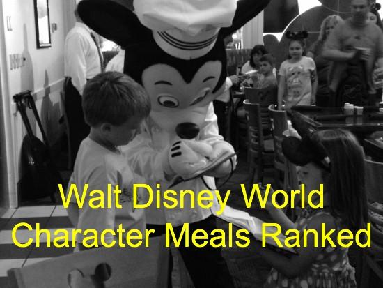 Walt Disney World Character Meals Ranked