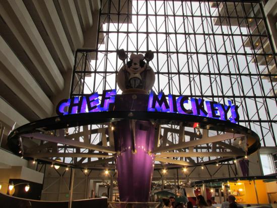 Chef Mickey's Entrance
