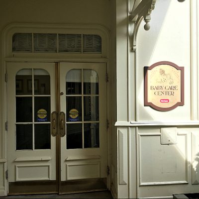 Baby Care Center Entrance Magic Kingdom