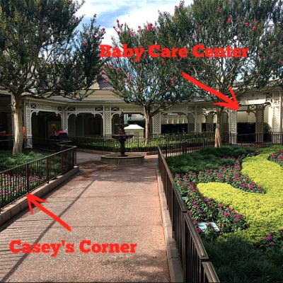 Magic Kingdom Baby Care Center Location