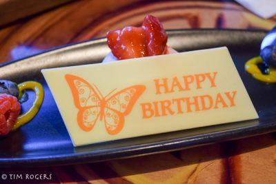 Sanaa Birthday Dessert