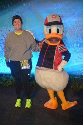 Pre-Race Picture with Donald