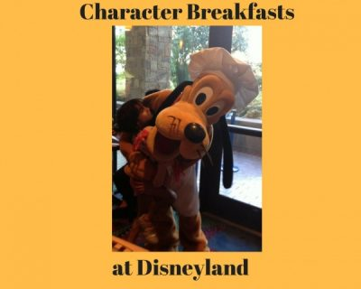 Character Breakfasts