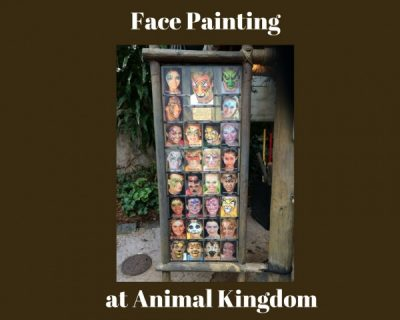 Face Painting at Disney's Animal Kingdom