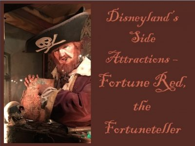 Disneyland's Side Attractions - Fortune Red