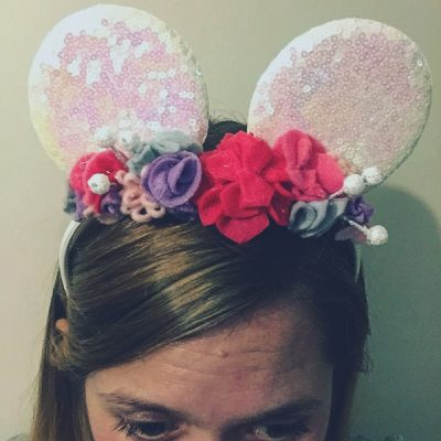 Felt Minnie ears