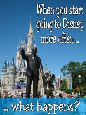 Disney parks more often