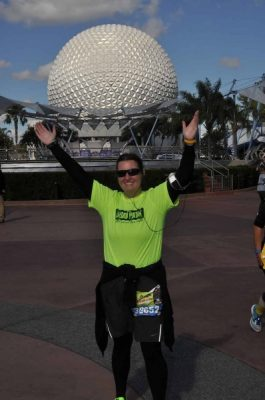 Last Photopass during the Marathon.