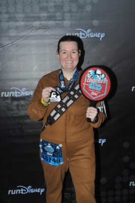 Star Wars Darkside 5k post race