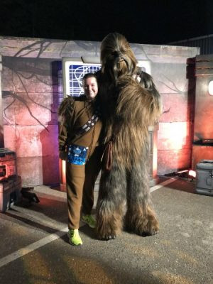 Star Wars Darkside 5k Photo with Chewie