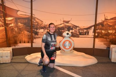 BB-8 Pre-Race Picture