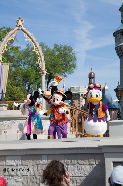Disney World itinerary