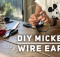 DIY Mickey Wire Ears