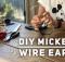DIY Mickey Wire Ears