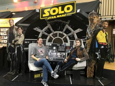 Star Wars Darkside Expo Solo Photo Op