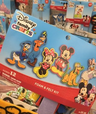 Mickey and Friends Crafts