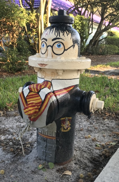 whimsical fire hydrant