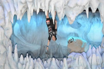 Disney Magic makes the picture from the Hoth Cave come out perfect!