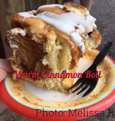 Warm Cinnamon Roll