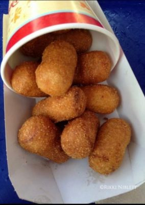 Corn Dog Nuggets | dining at Disney
