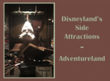 Disneyland's Side Attractions - Adventureland