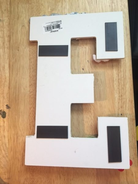 DIY Disney wooden letters