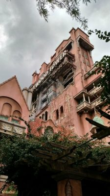 Tower of Terror Exterior Single Parent