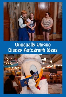 Disney Autograph Ideas