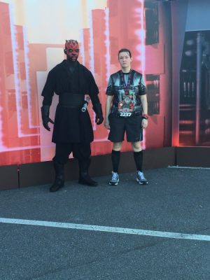 Darth Maul Post-Race Picture | star wars