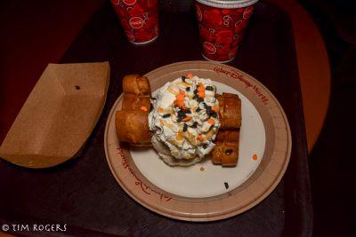 Halloween Party Pumpkin Waffles