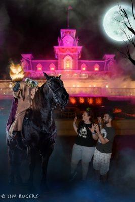 Halloween Magic Shot Horseman