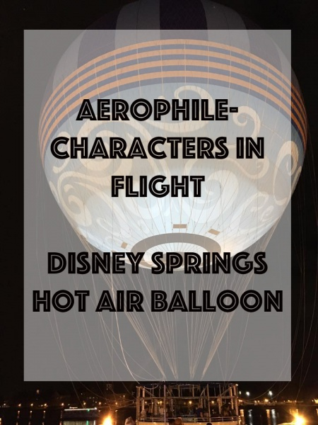 Aerophile-Characters in Flight