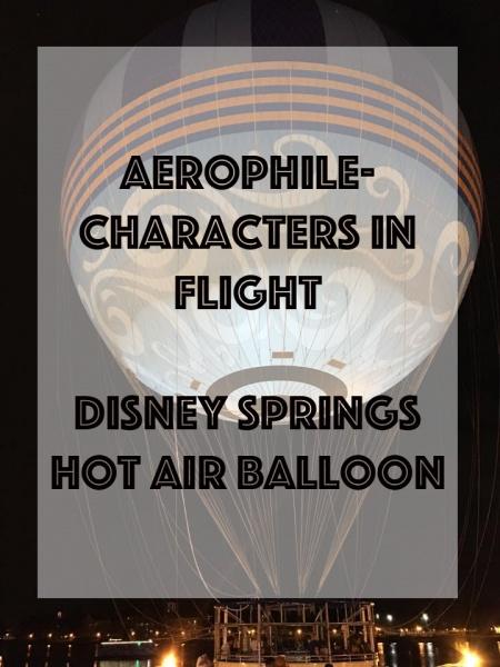 Aerophile-Characters in Flight