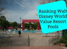 Ranking Walt Disney World Value Resort Pools