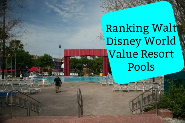 Ranking The Walt Disney World Value Resort Pools