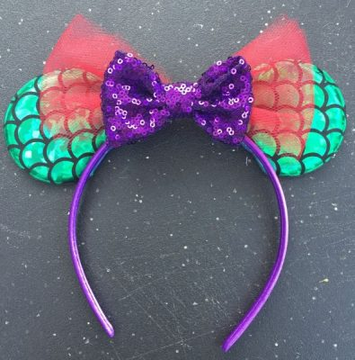 Finished- The Little Mermaid ears