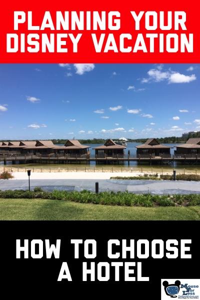 Choosing Your Hotel