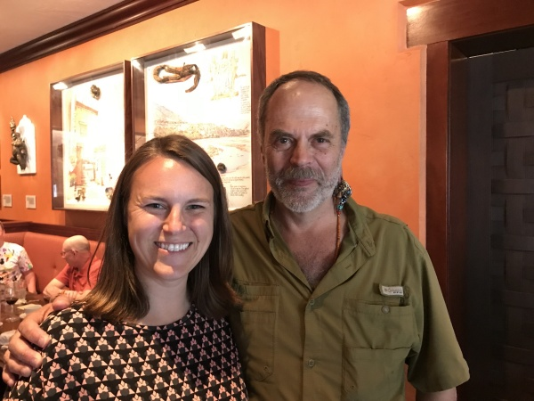 Picture with Joe Rohde at the end of the lunch