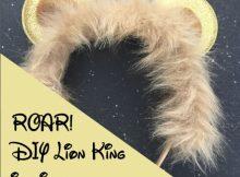 DIY Lion KinginspiredMickey Ears!