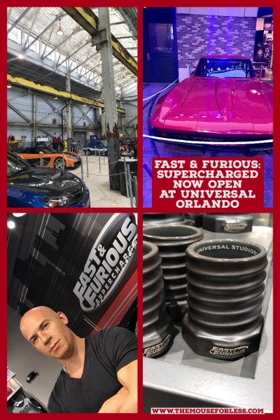 Fast & Furious - Supercharged Now Open