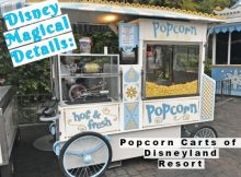 Magical Details: Popcorn Carts of Disneyland