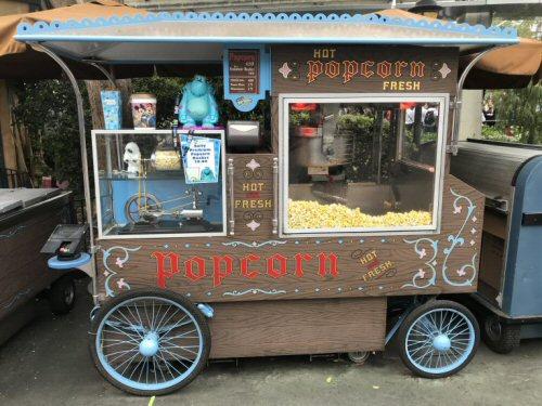 Matterhorn popcorn cart
