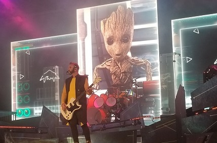 guardians of the galaxy-awesome mix live
