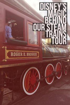 Disney's Magic Behind Our Steam Trains Tour: A Review